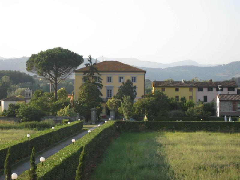 General view Villa Pardi