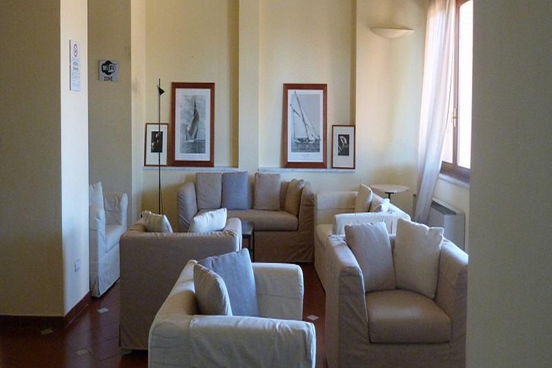 Lobby Hotel La Vedetta