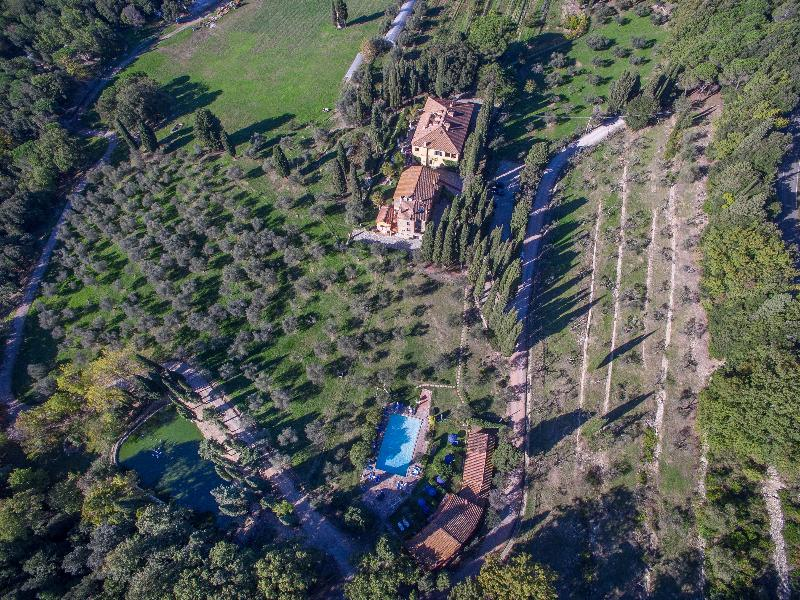 General view Borgo Tenuta La Bandita