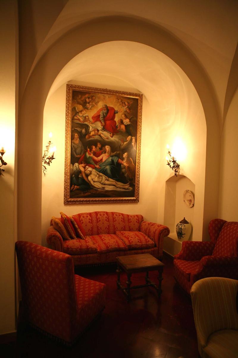 Lobby Borgo Tenuta La Bandita