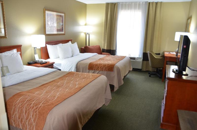 General view Comfort Inn Near Six Flags St. Louis