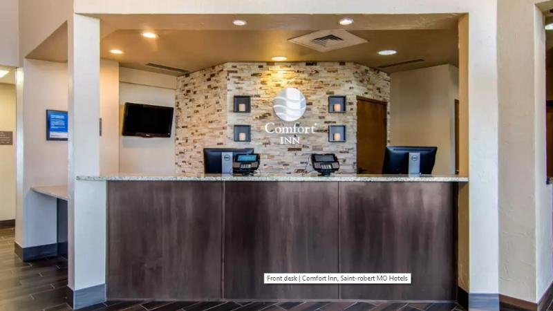 Lobby Comfort Inn St. Robert/fort Leonard Wood