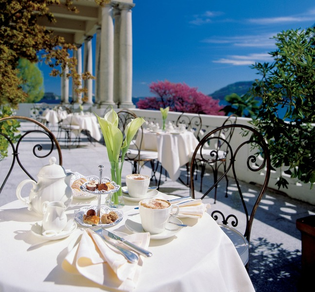Terrace Grand Hotel Majestic