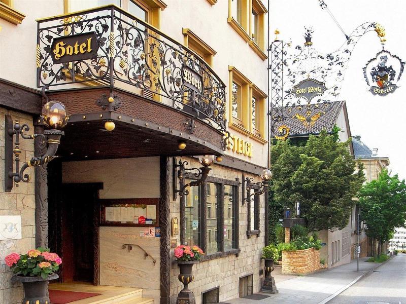 General view Woertz Schlosschen Zur Weinsteige