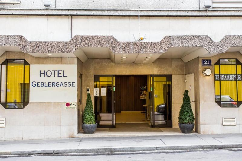 General view Hotel Geblergasse