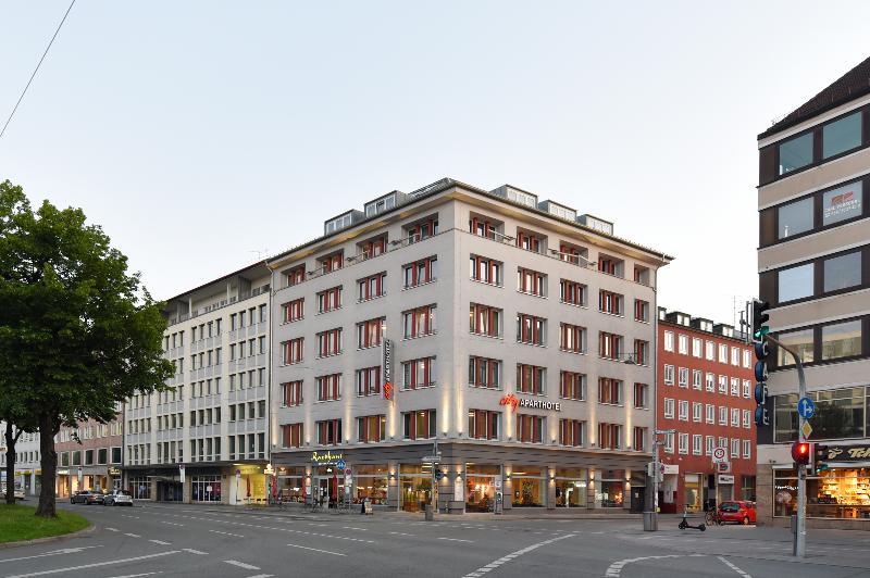 General view City Aparthotel Munchen