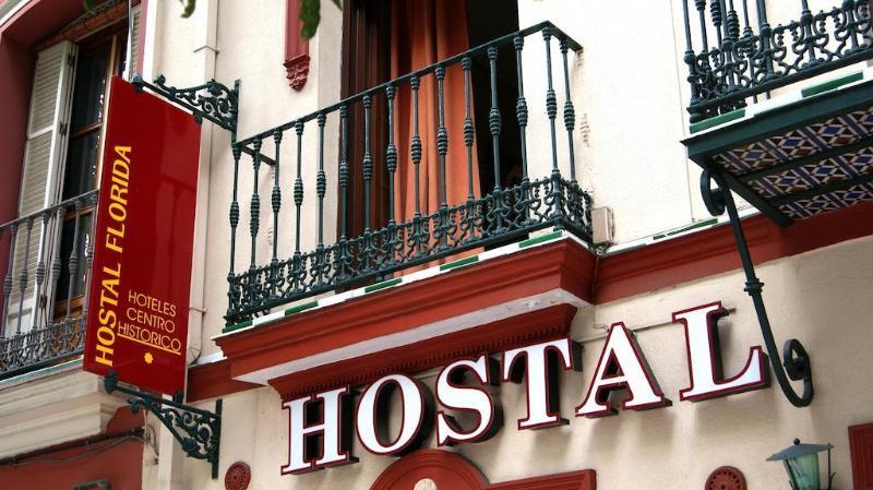 General view Hostal Florida Sevilla