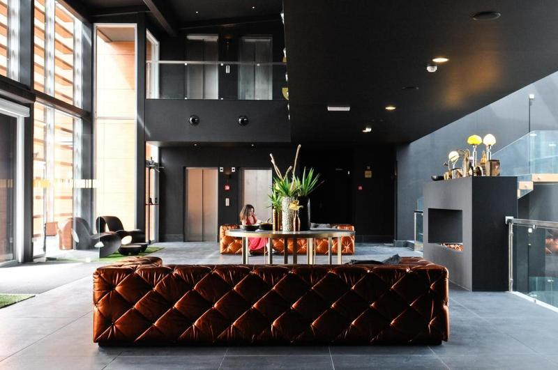 Lobby Evidencia Belverde Hotel
