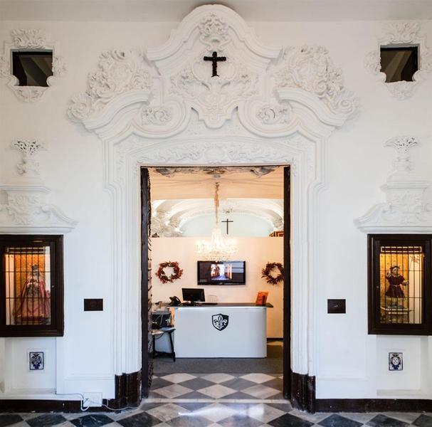Lobby Boutique Convento Cádiz Hotel