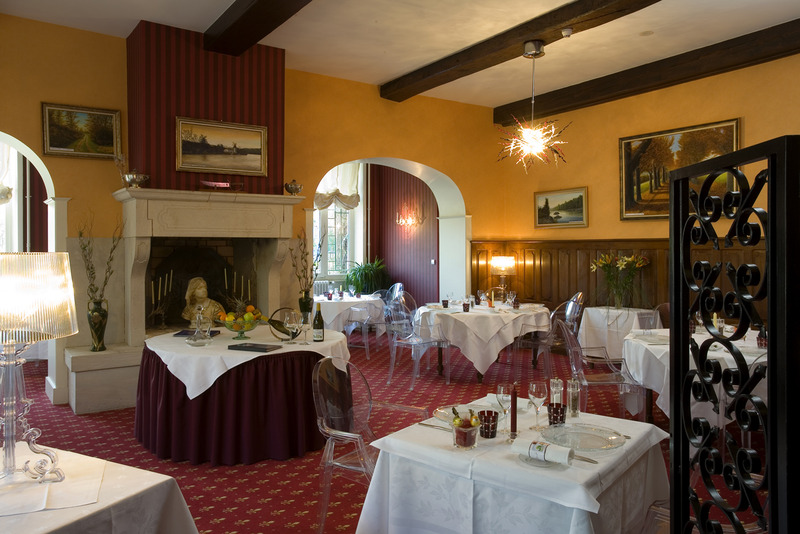 Restaurant Relais Du Silence Hostellerie Château De La Barge