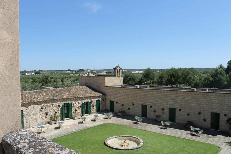 General view Masseria Pizzo Falcone