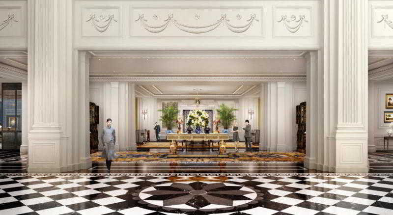 Lobby The Ritz-carlton, Tianjin