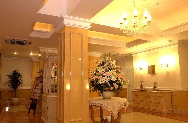 Lobby Hotel Fine Garden Jyuso