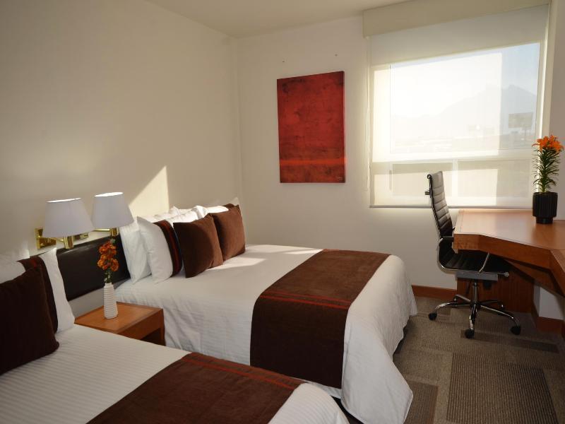 Room Misión Express Monterrey Aeropuerto La Fe