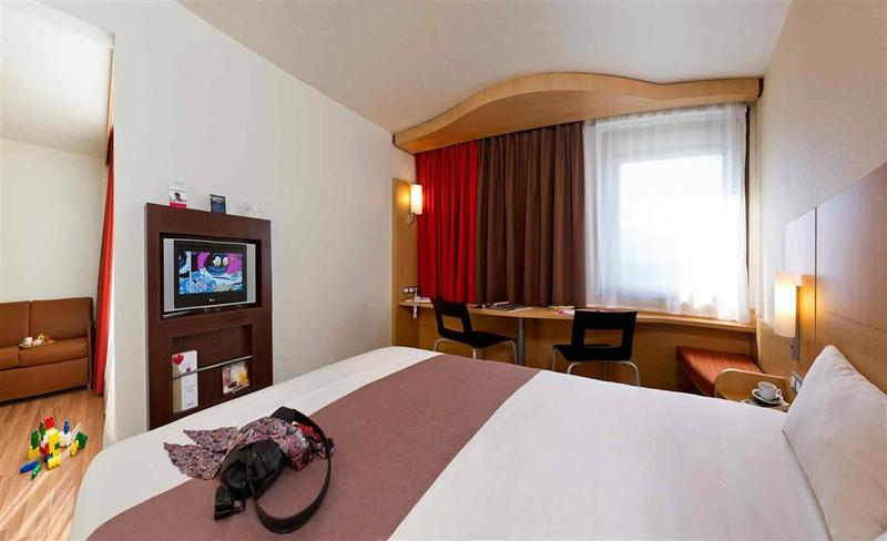 Room Ibis Brussels Expo-atomium