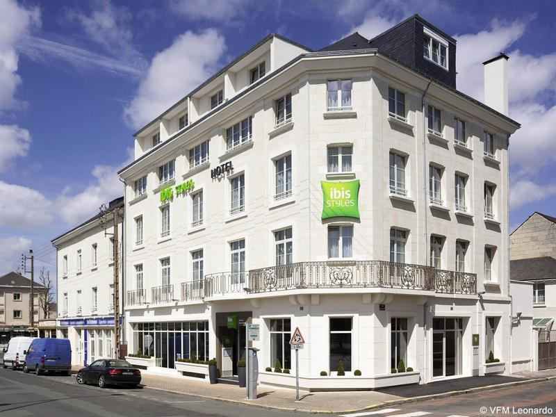 General view Ibis Styles Saumur Gare Centre