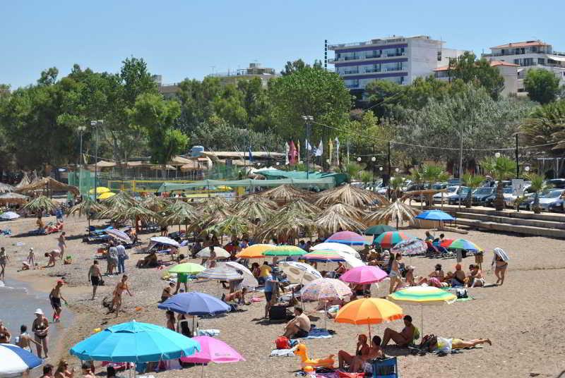 Beach Kyparissia Beach