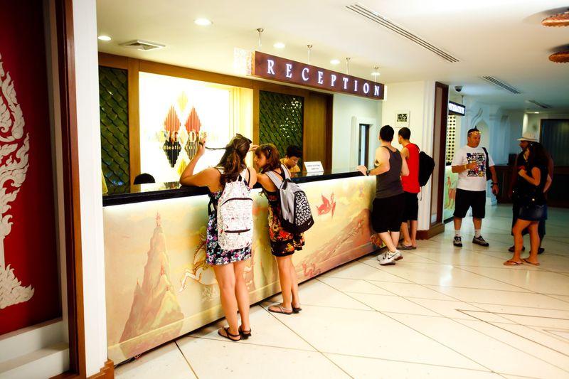 Lobby Dang Derm Hotel