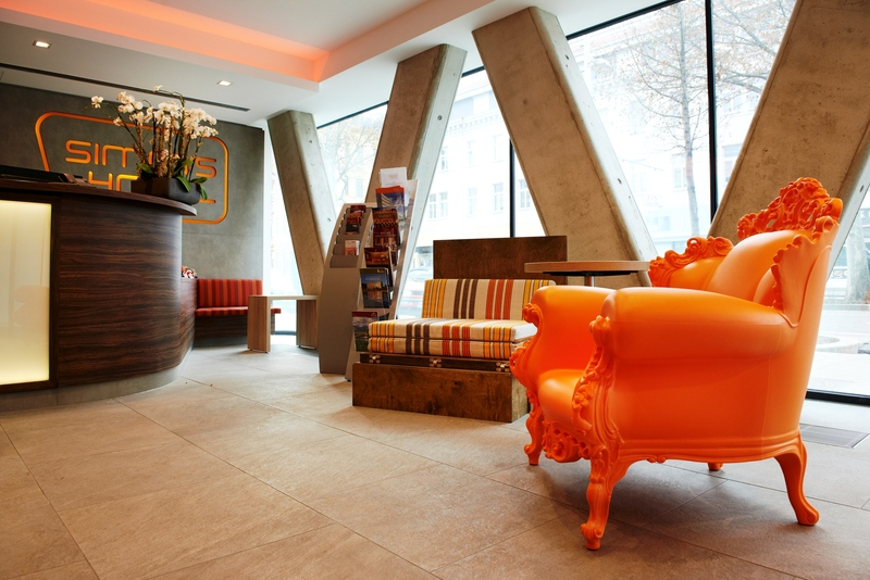 Lobby Simm\'s Hotel