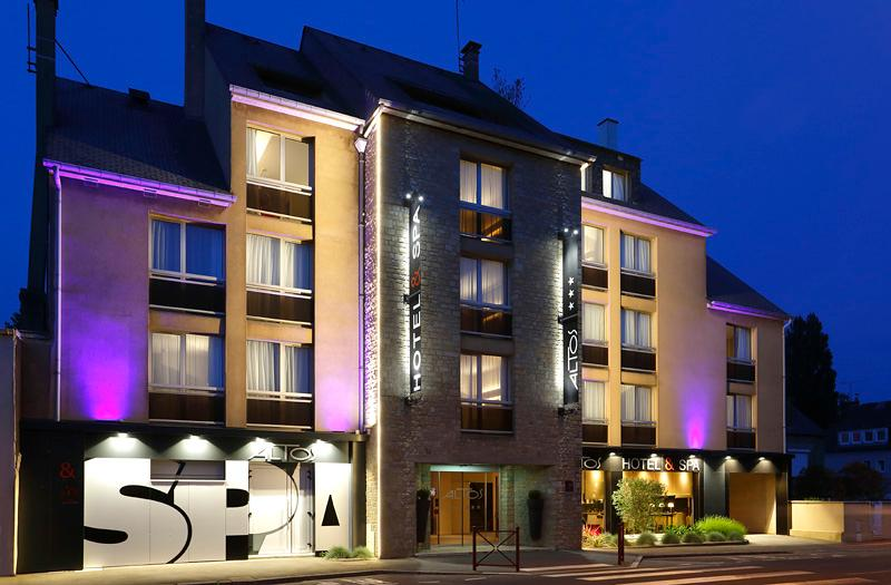 Altos Hotel Spa In Avranches Manche Department France