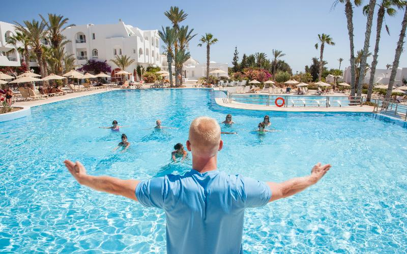 Sports and Entertainment Seabel Aladin Hotel