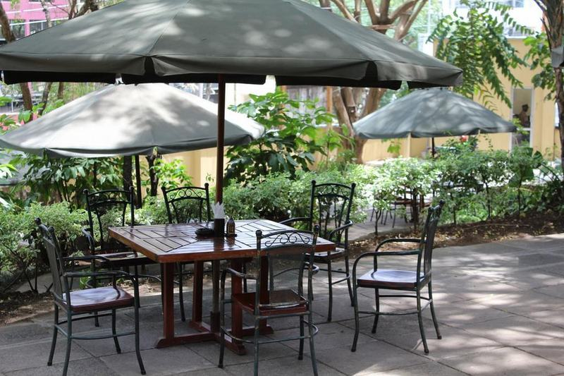Terrace Hillpark Hotel Nairobi