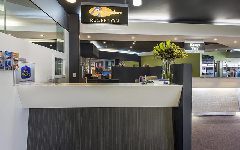 Lobby Foreshore Motel & Tavern (hobart) Lauderdale