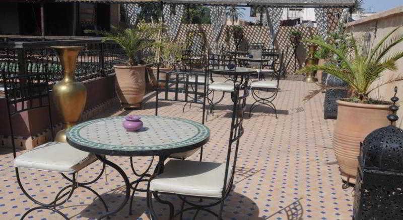 Terrace Riad Jnane Agdal & Spa