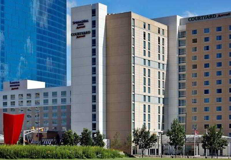 General view Springhill Suites Indianapolis Downtown