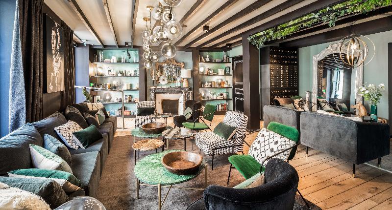 Lobby Inter-hotel Grand Hotel De Nantes