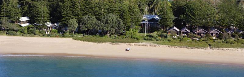 General view Kims Beach Hideaway