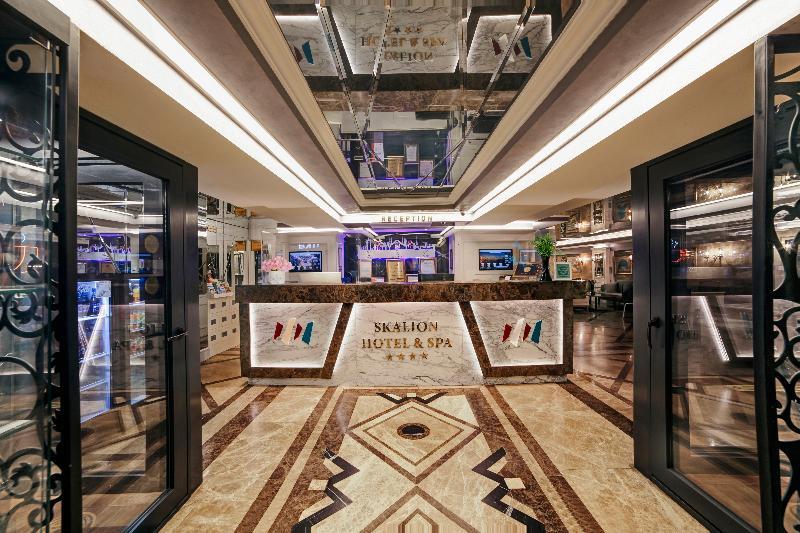 Lobby Skalion Hotel & Spa