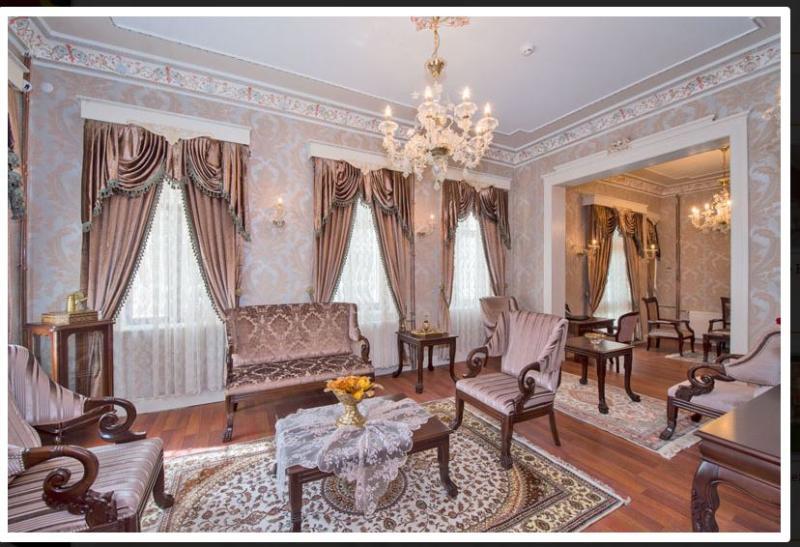 Lobby Enderun Hotel Istanbul