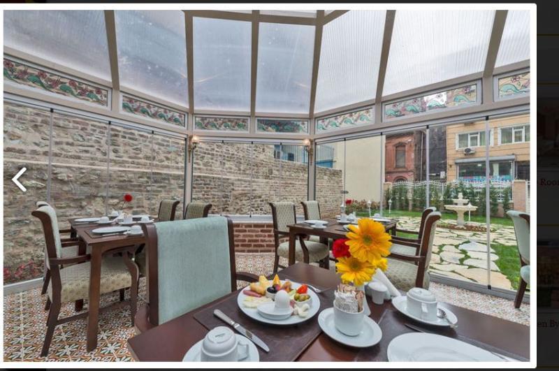 Terrace Enderun Hotel Istanbul