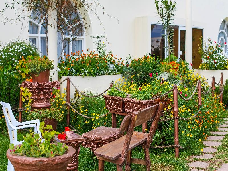 Terrace Houria Palace