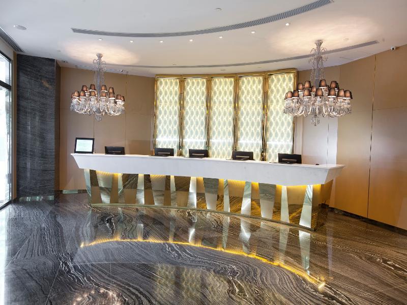 Lobby Dorsett Tsuen Wan