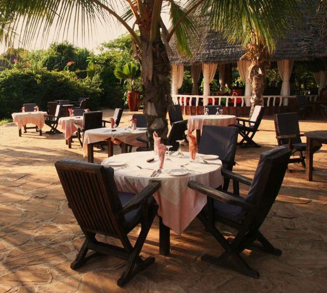 Restaurant Fumba Beach Lodge