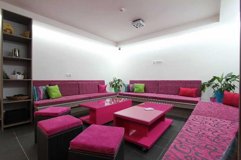 Lobby Hostel Massimo