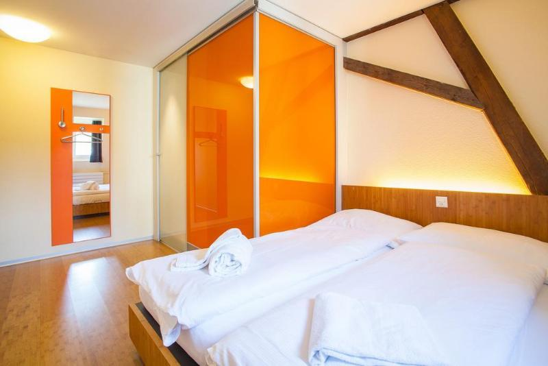 General view Easyhotel Basel
