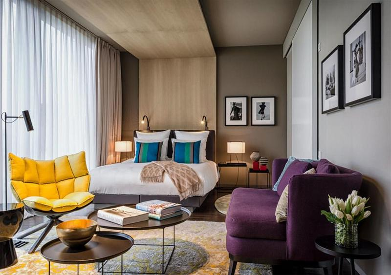Junior Suite With 1 King Size Bed And Tiergarten Park Or Zoo View