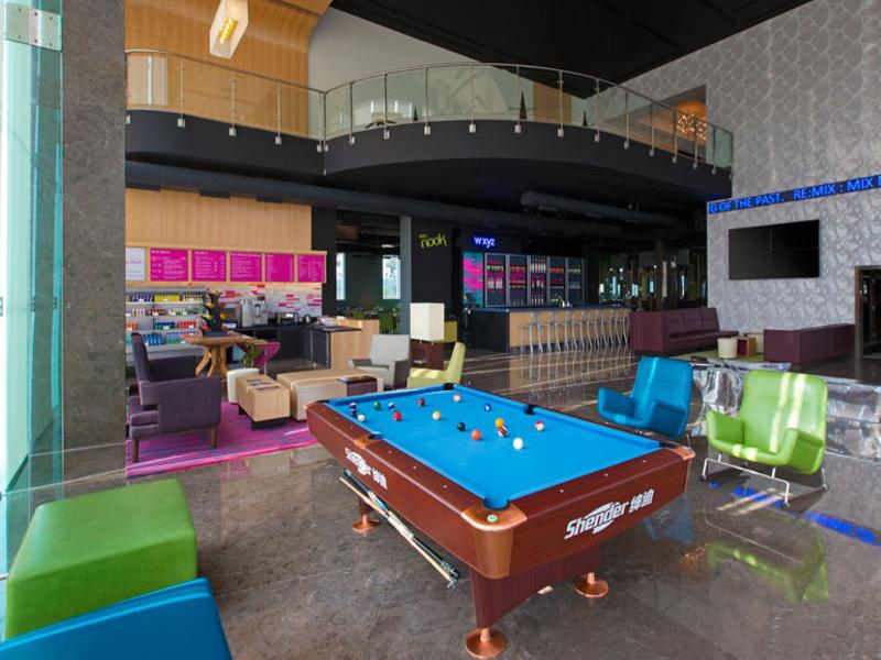 Sports and Entertainment Aloft Bengaluru Cessna Business Park