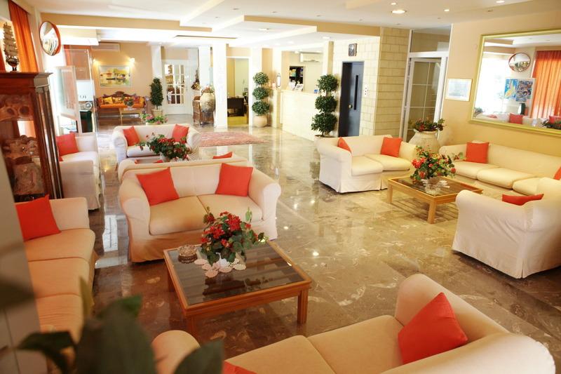 Lobby Ionian Sea Hotel Villas & Aqua Park