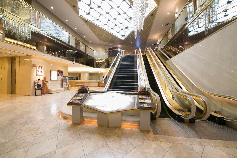 Lobby Shin Osaka Washington Hotel Plaza