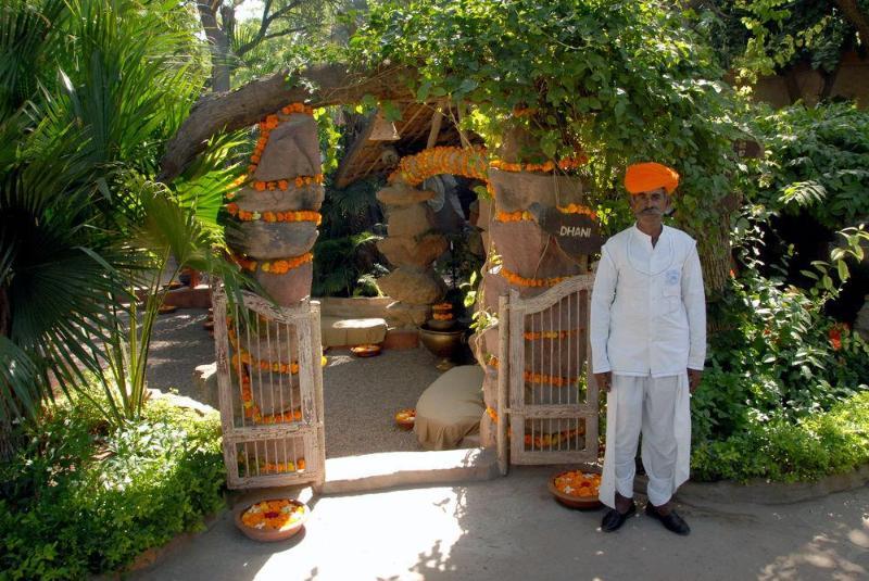 General view Ajit Bhawan Palace