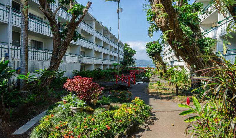 General view Pagoda Hilo Bay Hotel