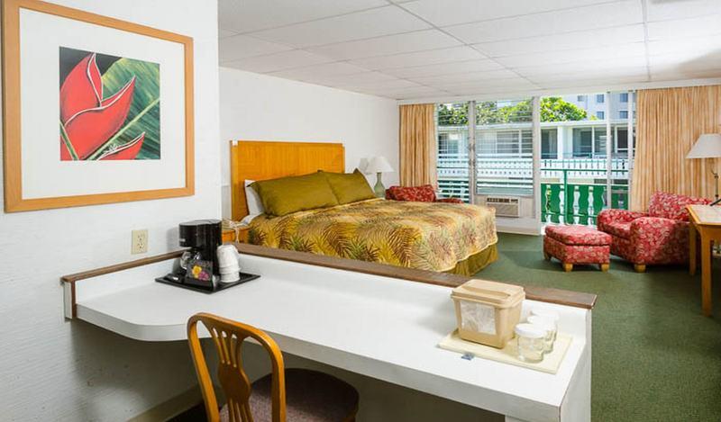 Room Pagoda Hilo Bay Hotel