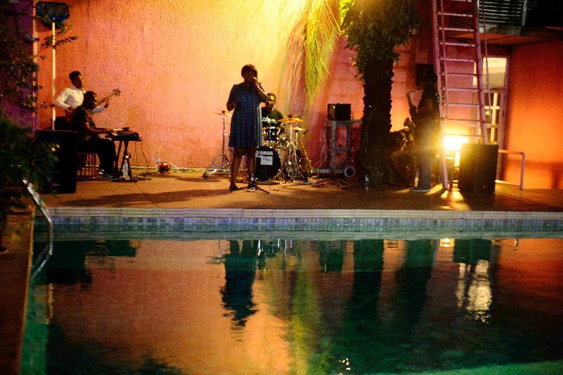 Pool The Blowfish Hotel