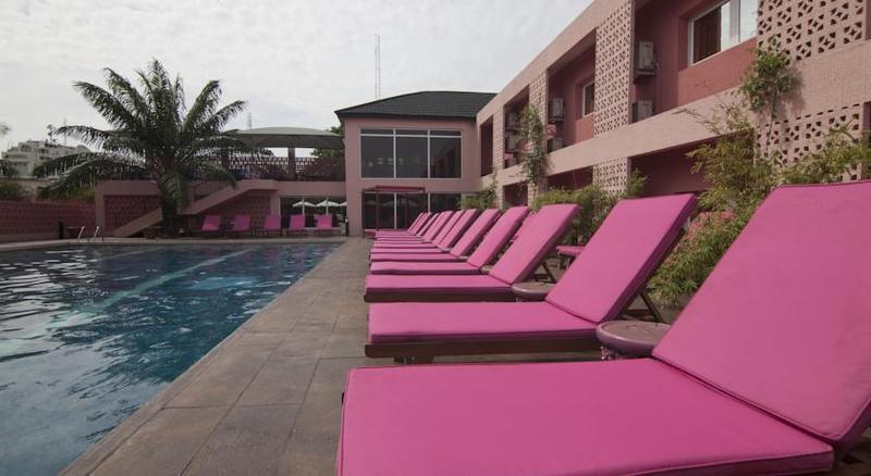 Terrace The Blowfish Hotel