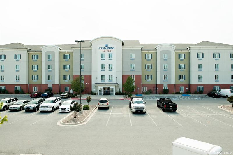 General view Candlewood Suites Lawton Fort Sill