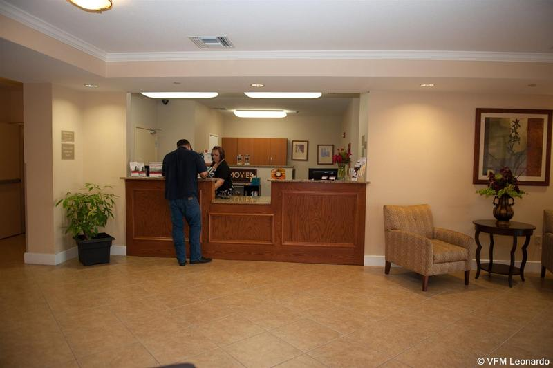 Lobby Candlewood Suites Lawton Fort Sill